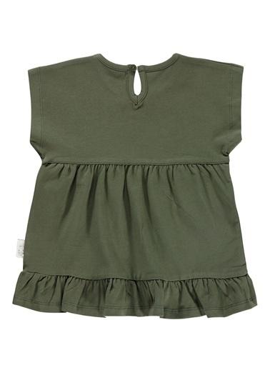 Kujju Kujju Kiz Bebek Elbise 6-18 Ay Haki Kujju Kiz Bebek Elbise 6-18 Ay Haki Haki